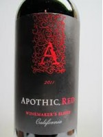 Apothic Red Winemaker's Blend California 2011  750ml